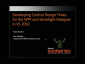 VideoDevelopingControlDesignTimesSilverlight