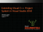 VideoExtendingCppProjectSystemInVisualStudio2010