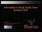 VideoExtensibilityInVisualStudioTeamArchitect2010
