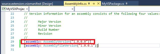 AssemblyVersionAssemblyInfo