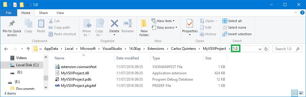 VersionFolder