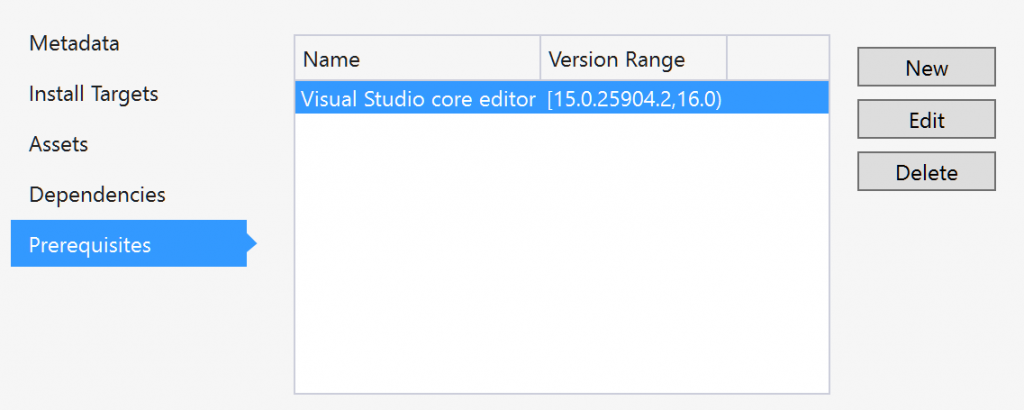 vs2017coreeditordependency