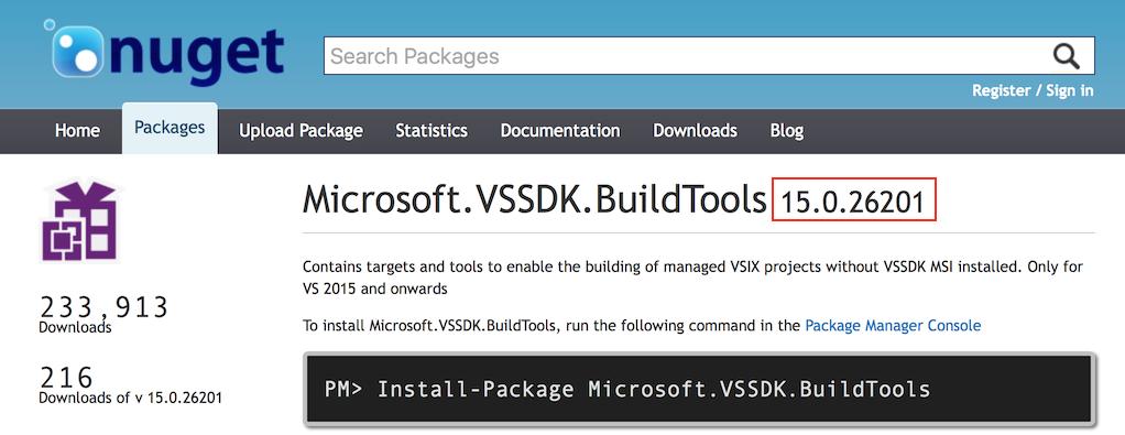 VS 2017 | Visual Studio Extensibility (VSX)