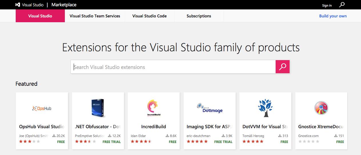 VS Extensibility | Visual Studio Extensibility (VSX)